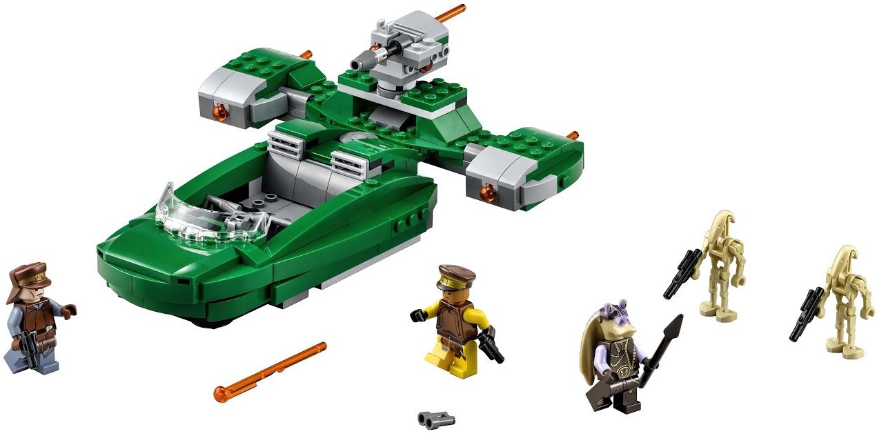 Star Wars LEGO Star Wars Флэш-спидер (75091) lego игрушка звездные войны флэш спидер