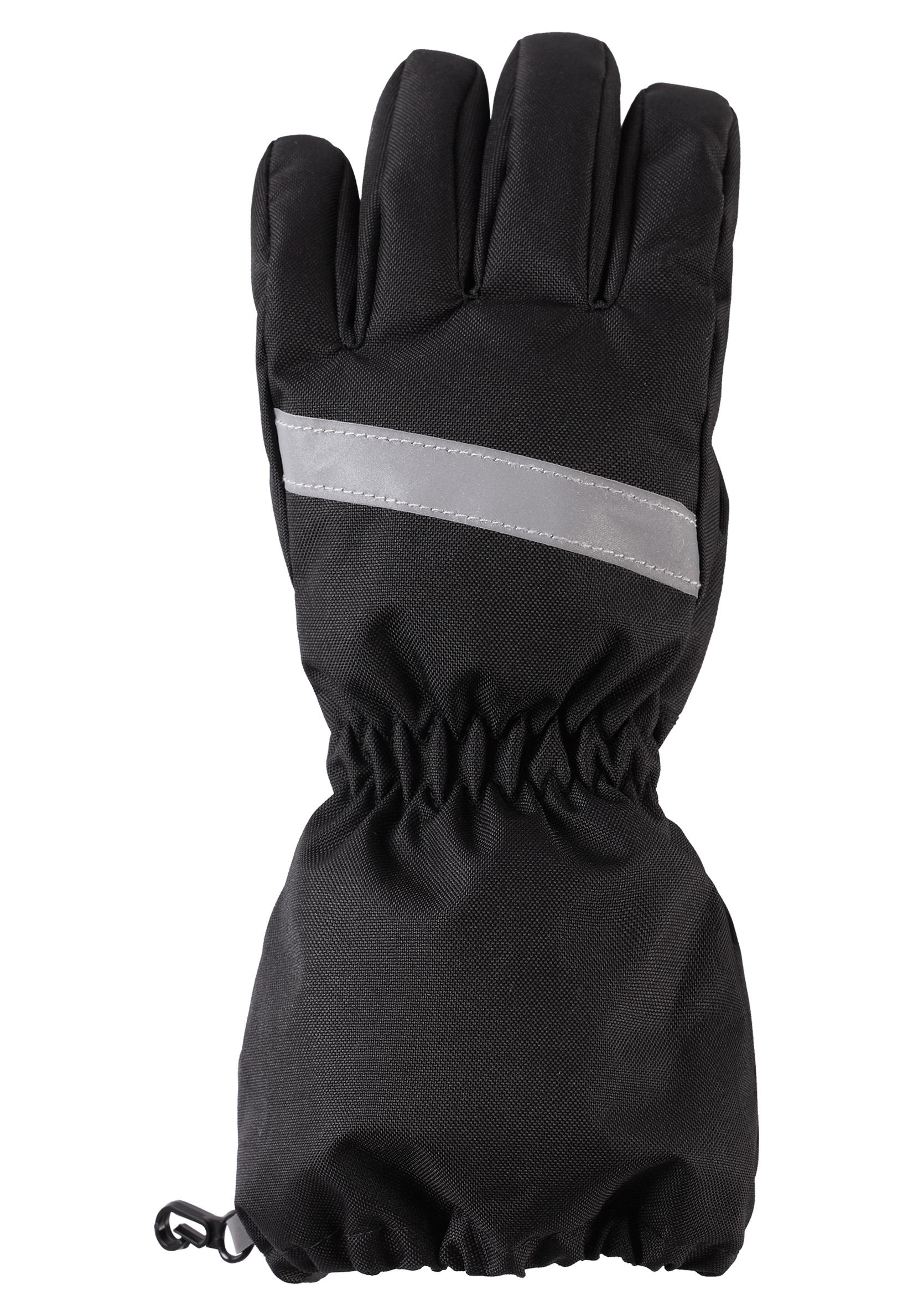 Варежки и перчатки Lassie Перчатки для мальчика Lassie черные цена 2017