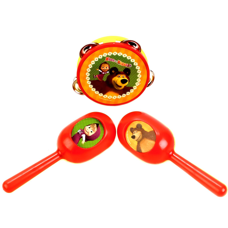 Музыкальные инструменты Играем вместе Набор музыкальных инструментов Играем вместе «Маша и Медведь» баралгин м 500 мг n20 табл