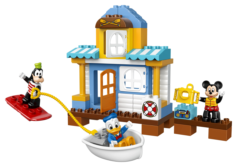 LEGO DUPLO LEGO 10827 Домик на пляже конструктор lego криэйтор домик на пляже 31035