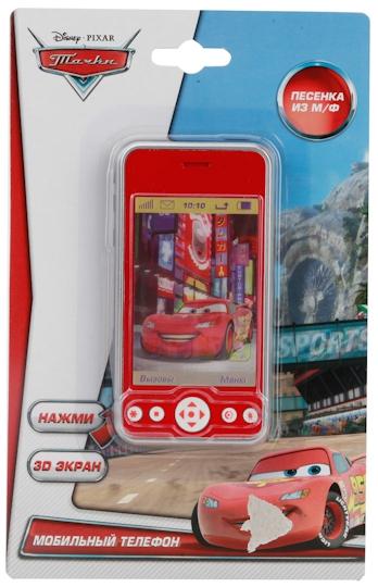 Развивающие игрушки Играем вместе Телефон Тачки сотовый телефон senseit t100 black