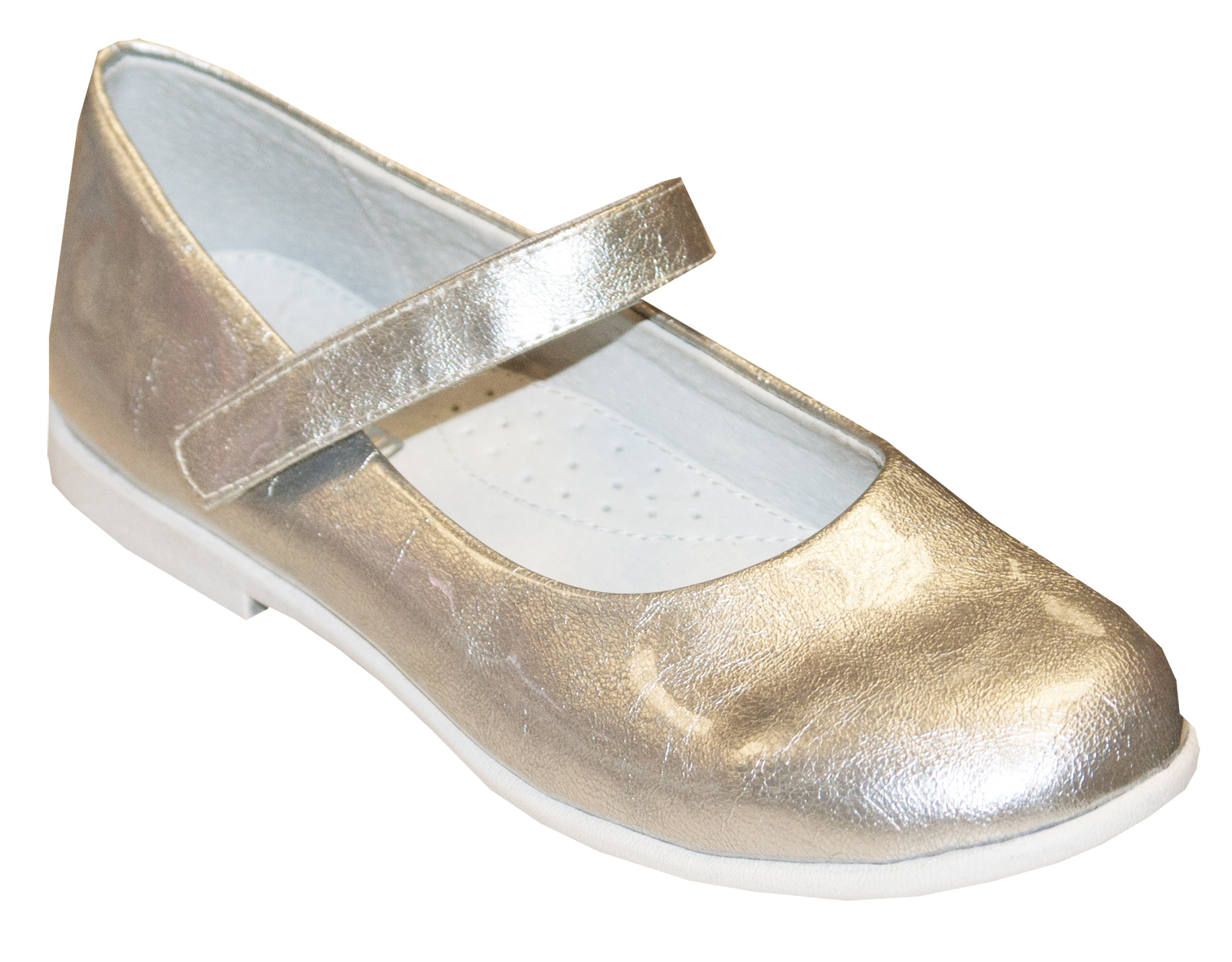 Туфли Barkito Туфли для девочки Barkito серебряные туфли acoola для девочки цвет серебряный