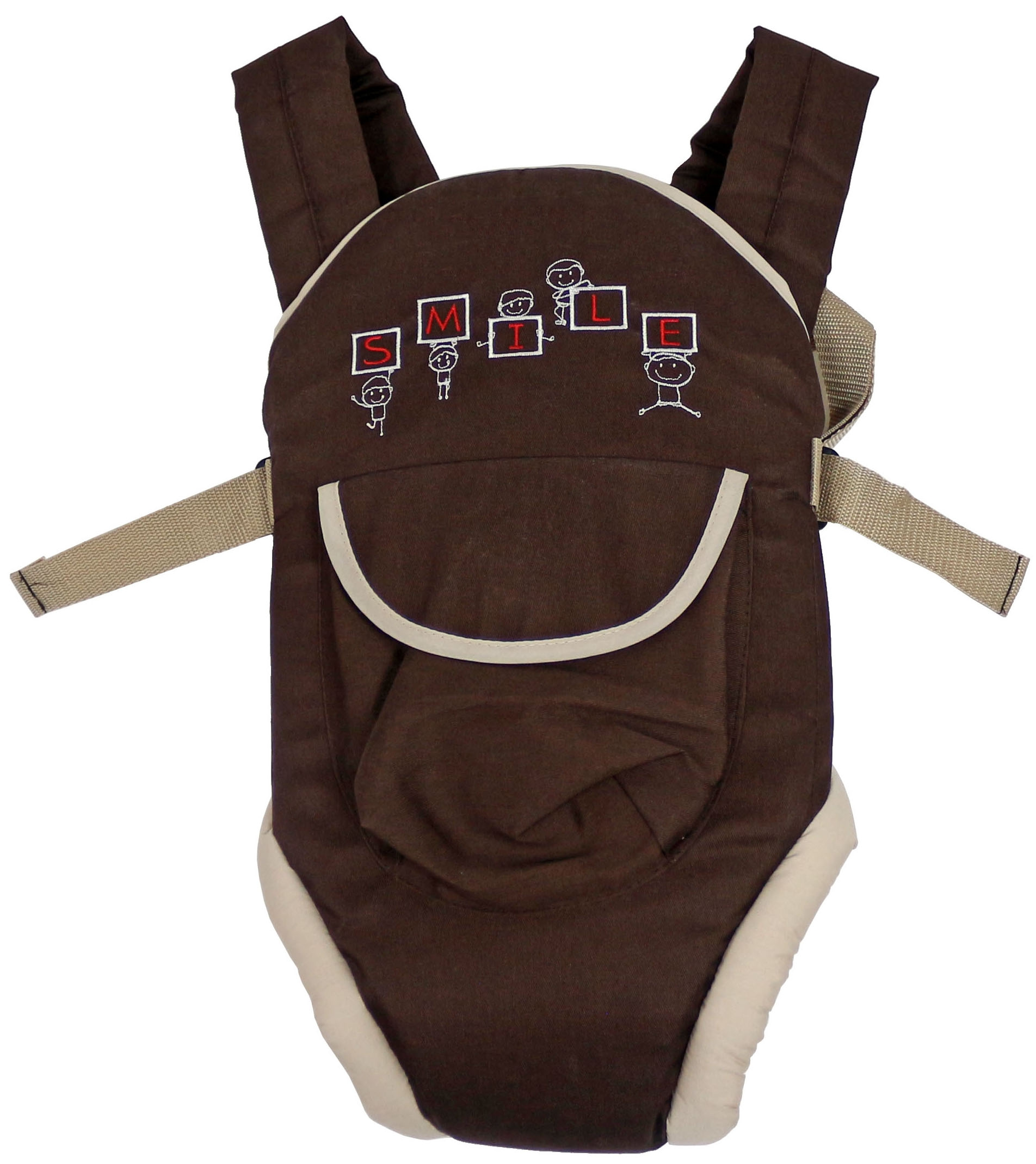 рюкзаки кенгуру Слинги и рюкзаки Топотушки Комфорт коричневый