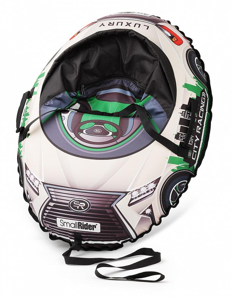 Купить Тюбинг-санки, Snow Cars 3 LX зеленый, 1шт., Small Rider 1425146, Россия, green