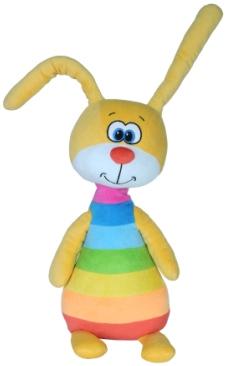 Мягкие игрушки СмолТойс Зайка радужный мягкая игрушка смолтойс зайка даша 53 см