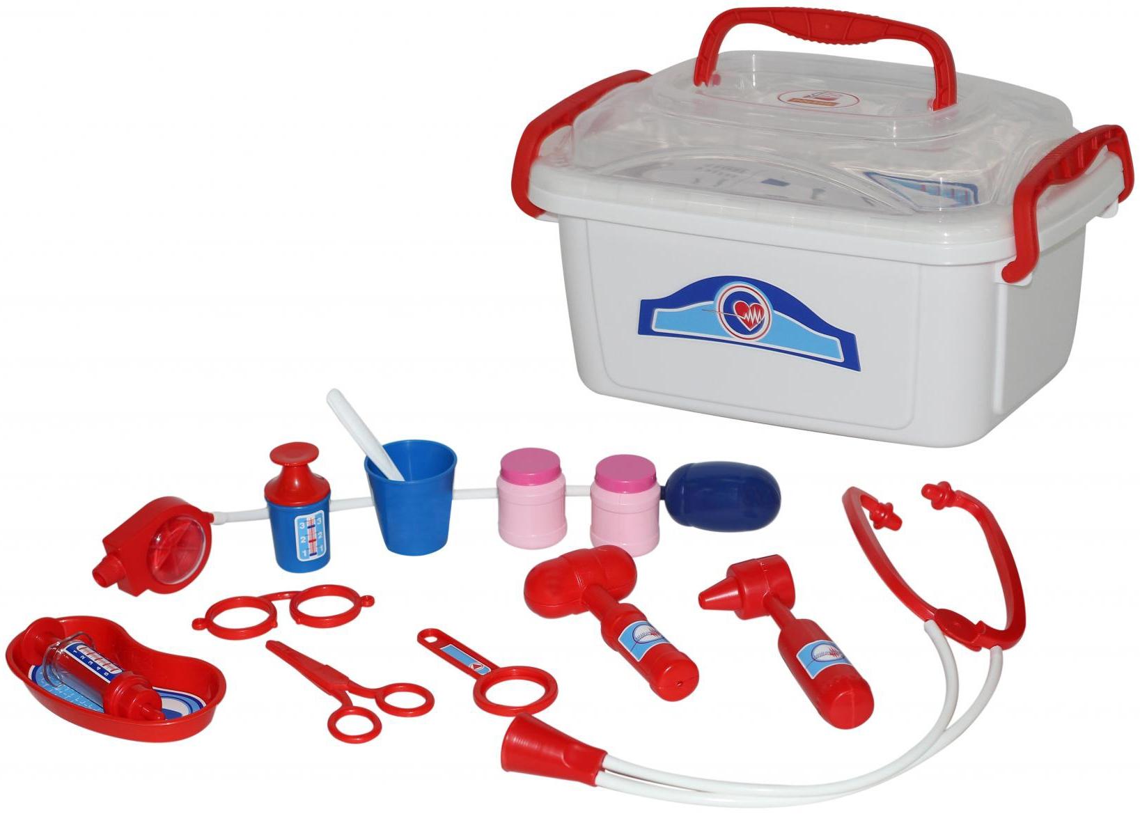 Купить со скидкой Игровой набор доктора Полесье в контейнере