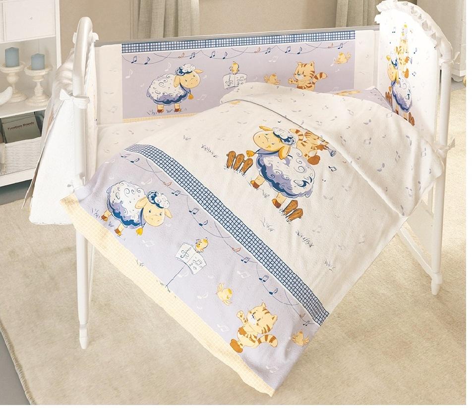 все цены на Постельное белье для малышей Baby Nice Овечка онлайн