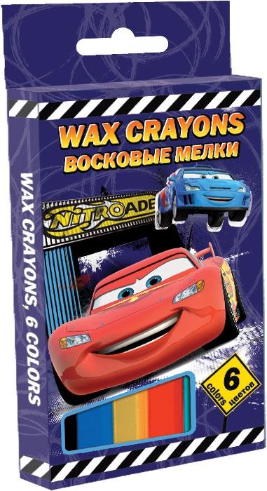 Ручки и карандаши Cars Мелки восковые Disney Cars 6 цв. карандаши восковые мелки пастель berlingo карандаши замки 18 цветов