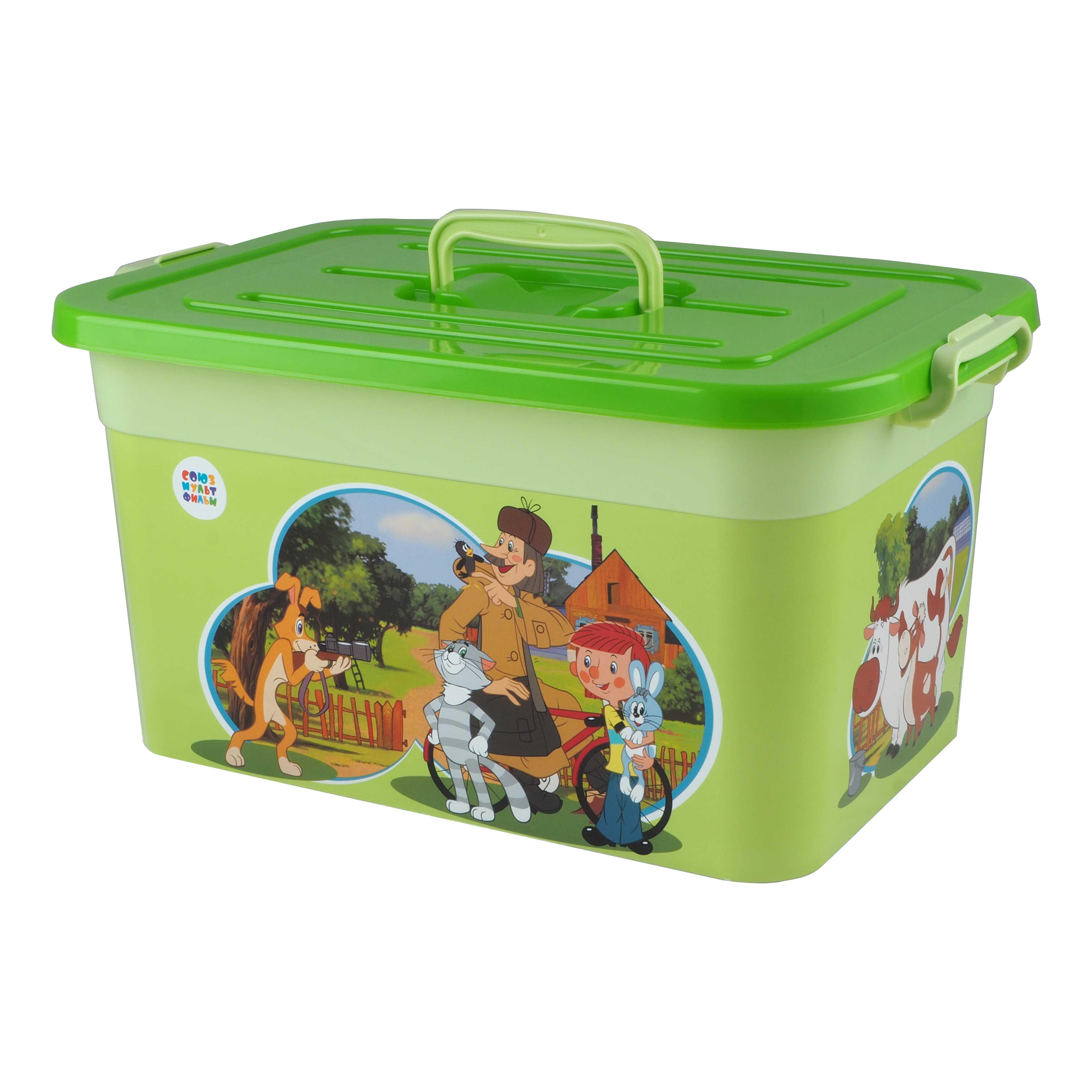 ящики для игрушек Ящик для игрушек ПолимерБыт Союзмультфильм