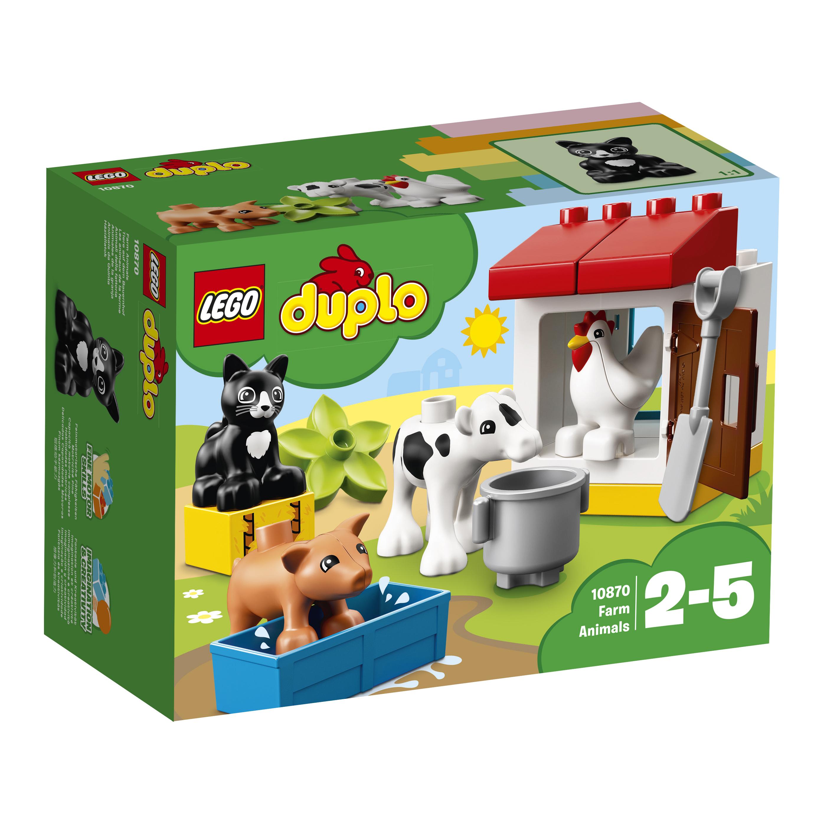 LEGO DUPLO LEGO DUPLO Town 10870 Ферма: домашние животные