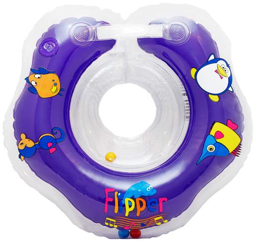 Коврики и круги Flipper Круг для купания на шею Flipper «Music» музыкальный 0-24 мес. круг для купания на шею roxy kids flipper music музыкальный 0 24 мес