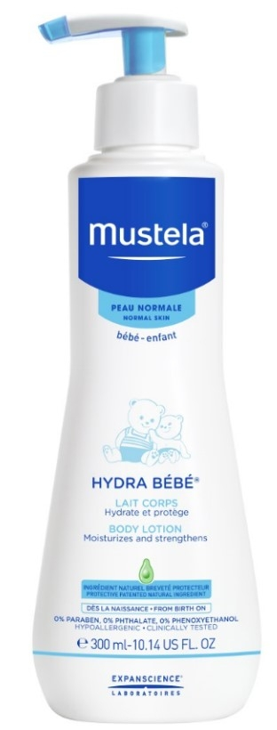 Уход за кожей малышей Mustela Молочко для тела Hydra-Bebe увлажняющее детское увлажняющее молочко mustela bebe hydra bebe 300 мл