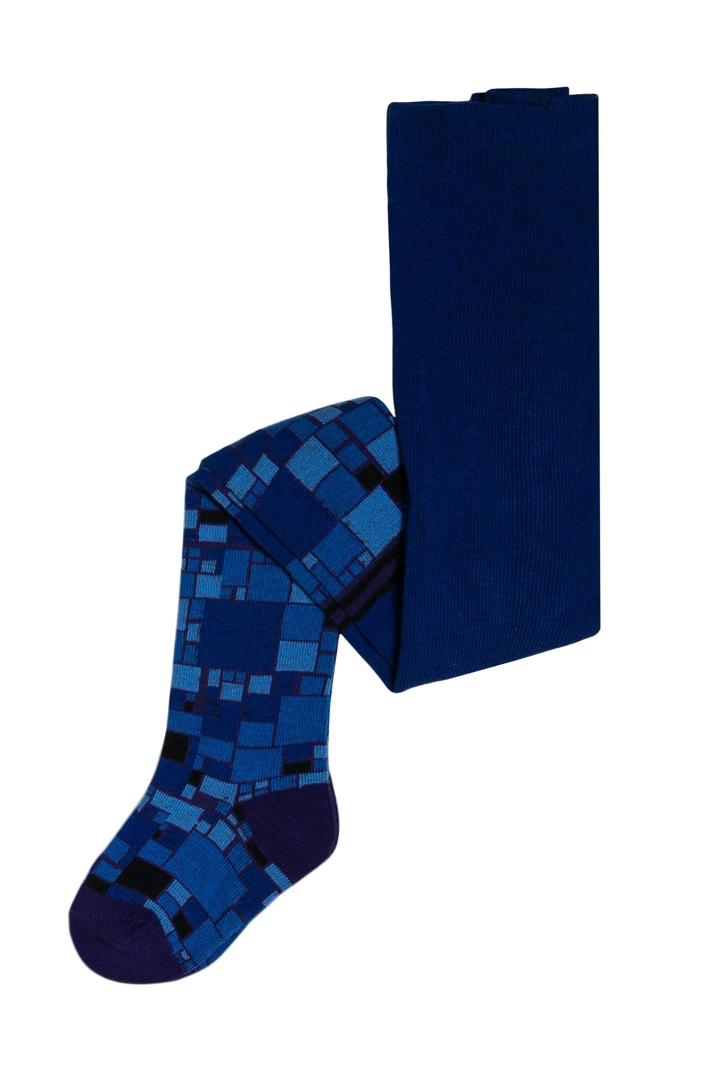 Купить Колготки для мальчика Barkito, синие с рисунком, Китай, blue, Мужской