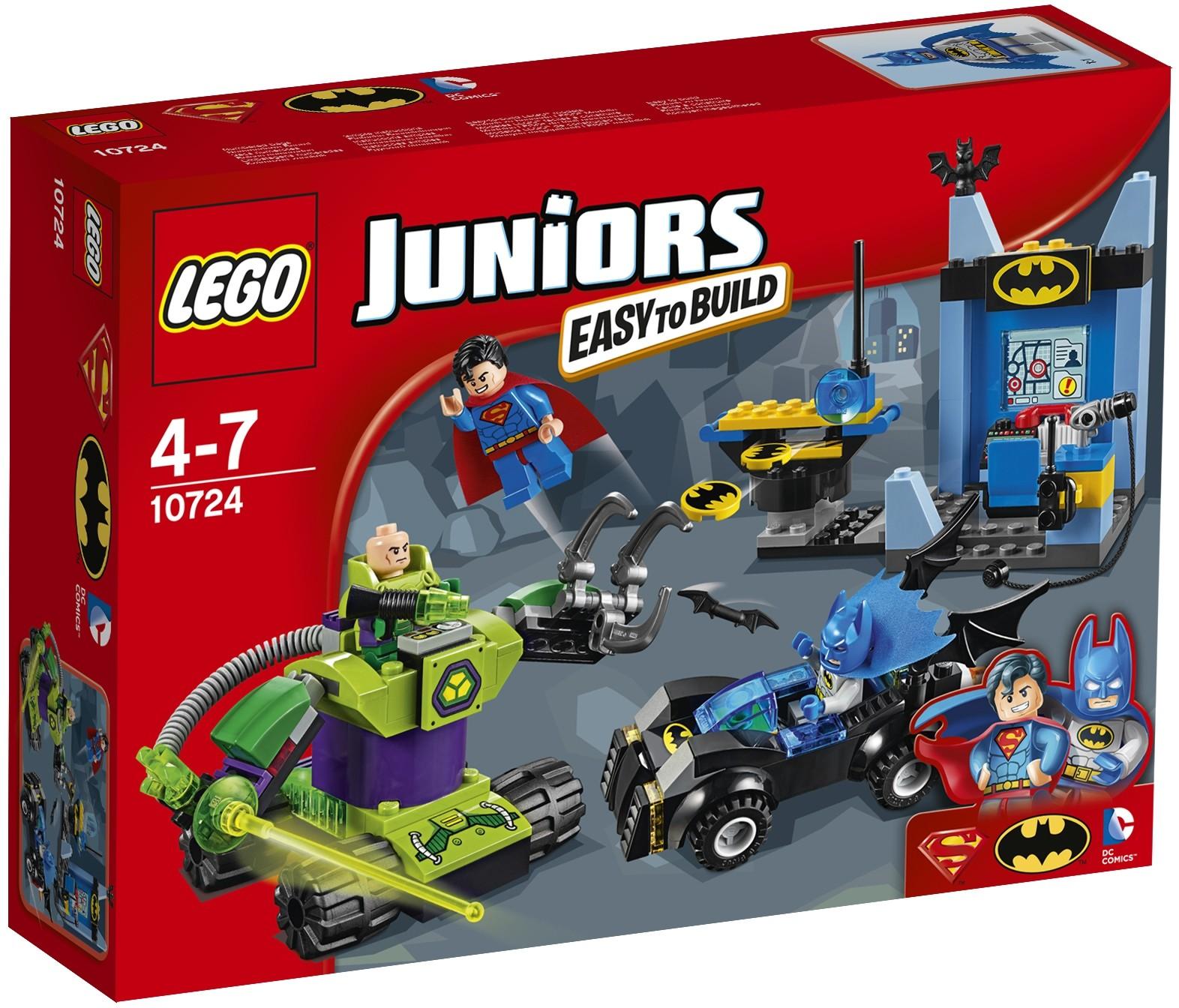 LEGO LEGO 10724 Бэтмен и Супермен против Лекса Лютора конструктор lego juniors 10737 бэтмен против мистера фриза