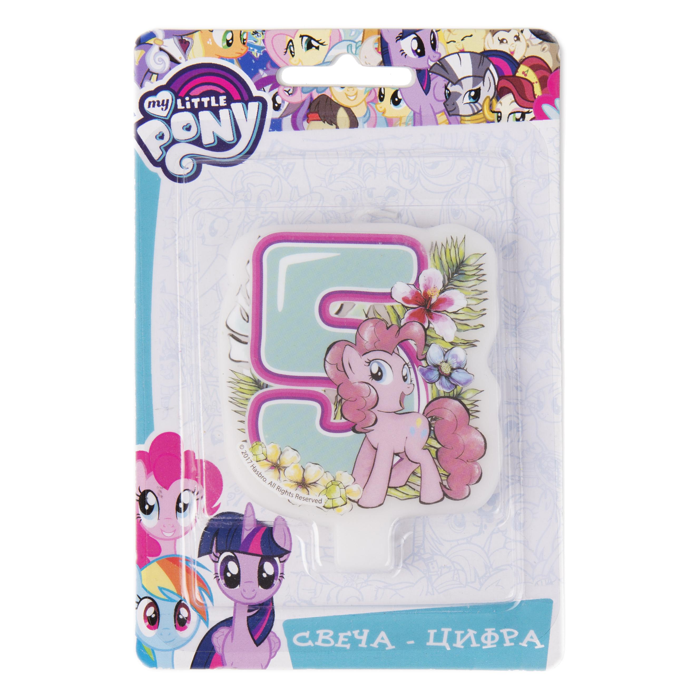 цена на Свеча My Little Pony «Цифра 5»