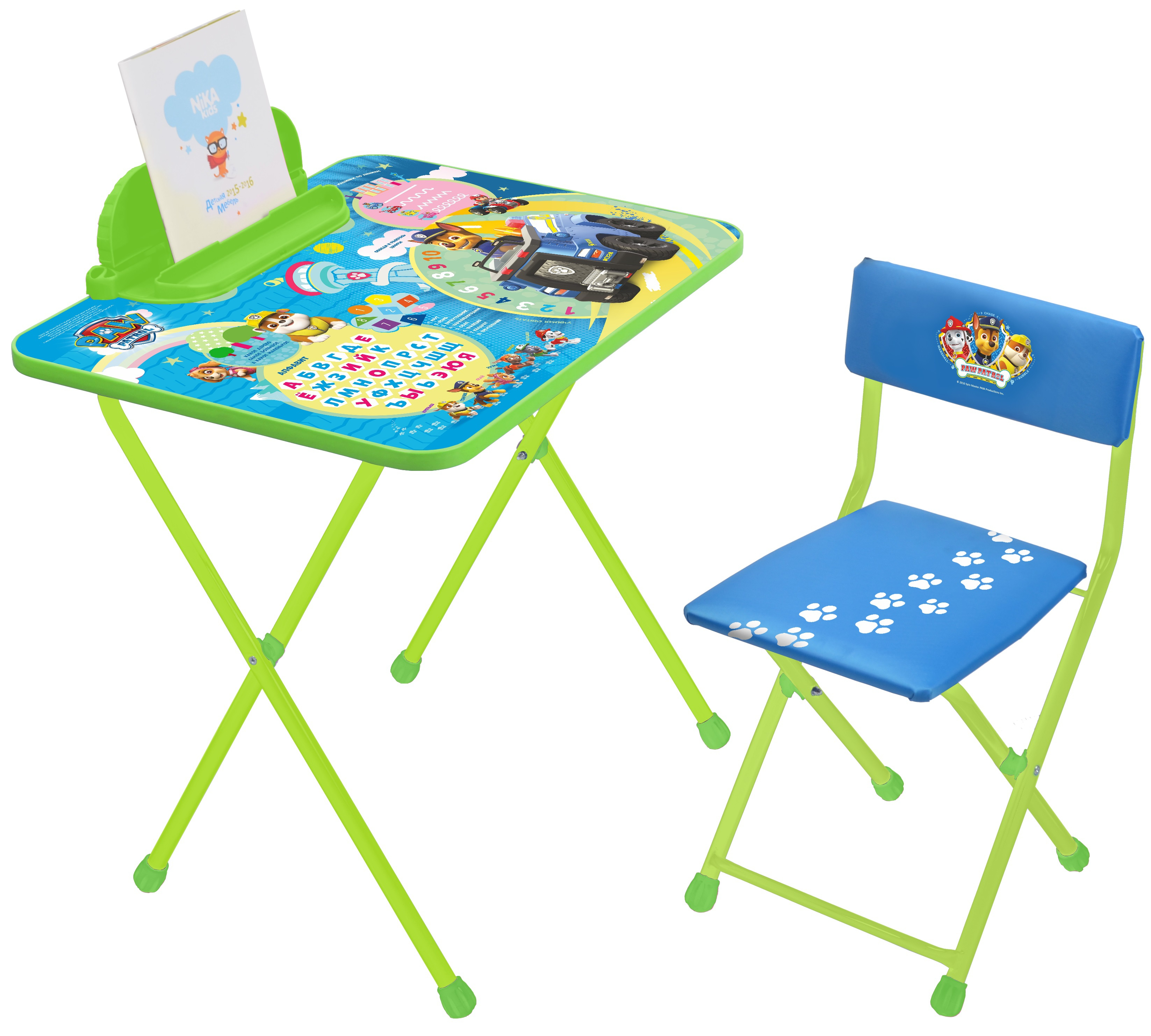 Столы и стулья Nika Щенячий патруль