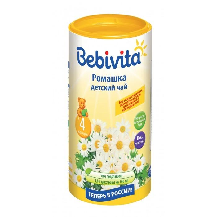цена Чай детский Bebivita «Ромашка» с 4 мес. 200 г. онлайн в 2017 году