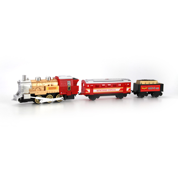 Наборы игрушечных железных дорог, локомотивы, вагоны Играем вместе Красная Стрела играем вместе железная дорога мой поезд с дымом играем вместе играем вместе