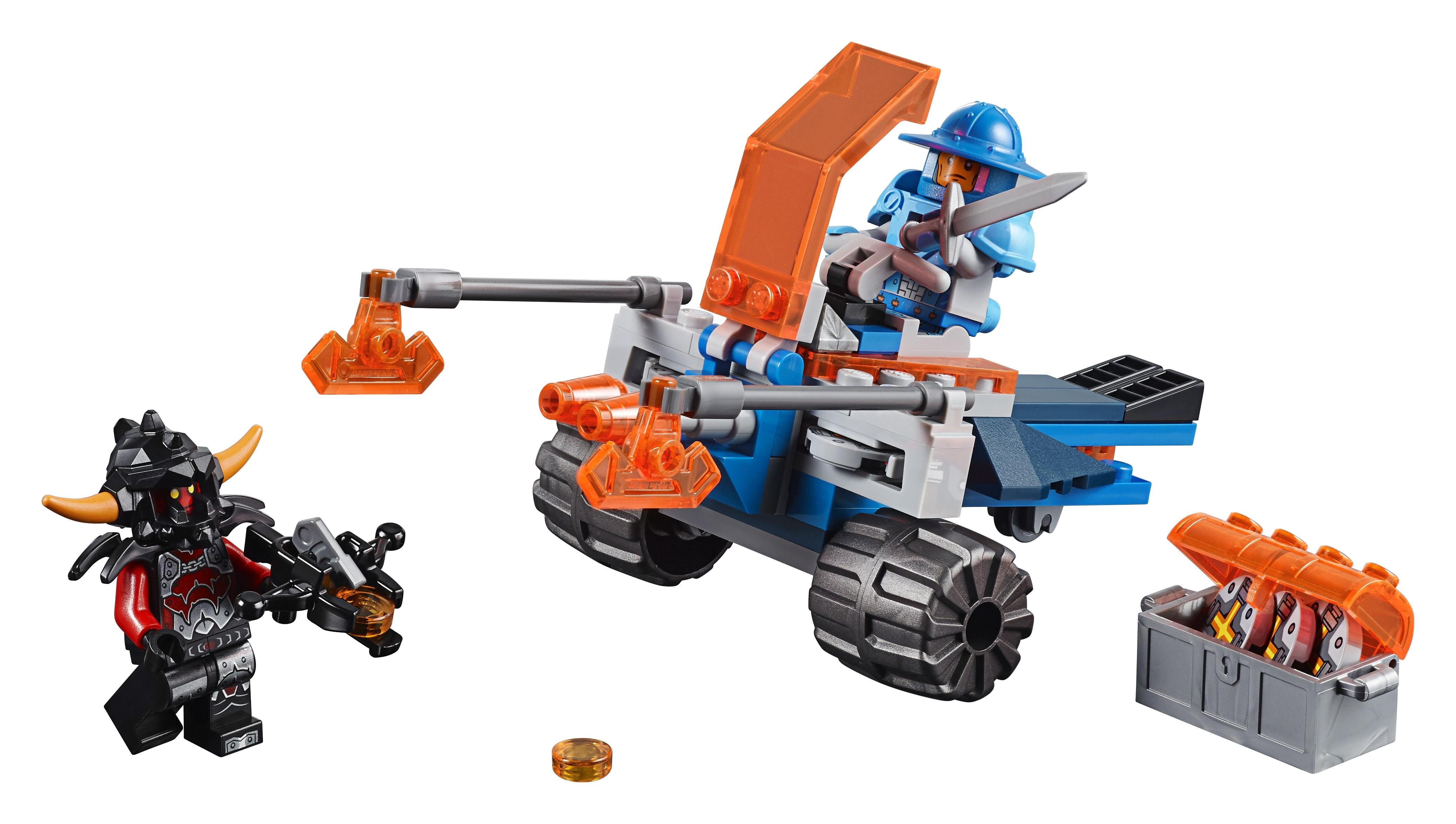 Бластеры LEGO Nexo Knights 70310 Королевский боевой бластер lepin nexo knights axl glob lobber combination marvel building blocks kits toys compatible legoe nexus