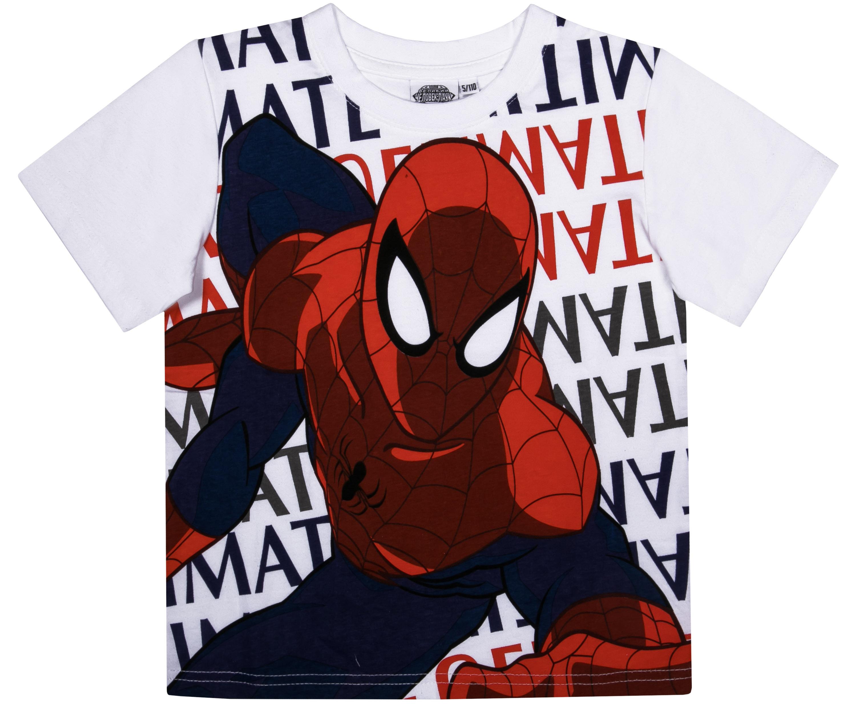 Футболка с коротким рукавом Barkito Spider-man 083-1117001LC линейка spider man раскладная с трафаретом