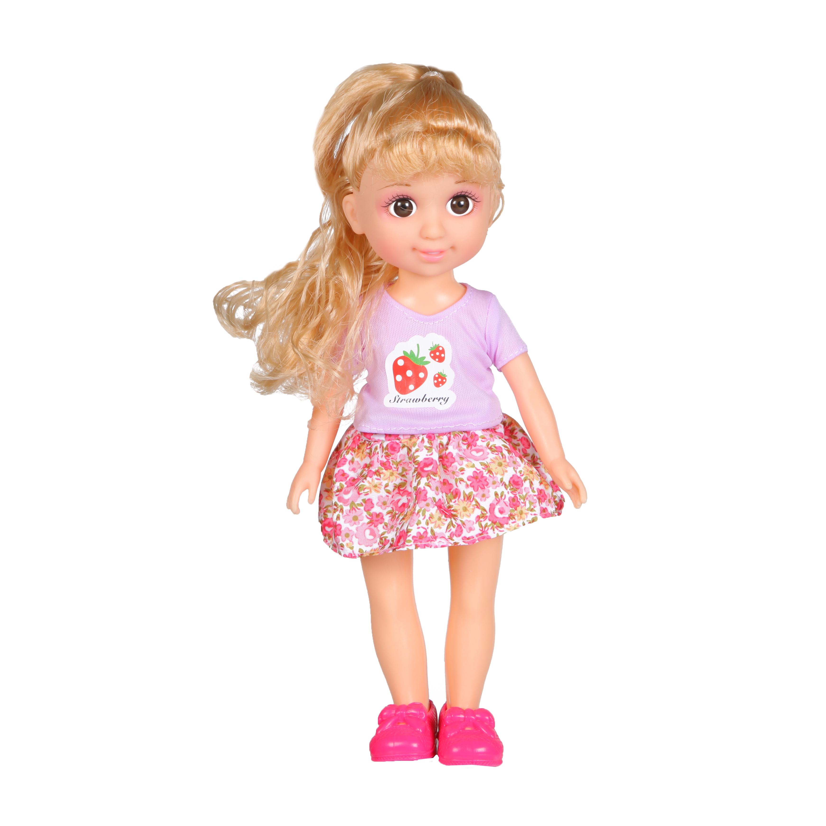 Кукла YAKO Jammy в розовом наряде кукла yako jammy доктор m6309