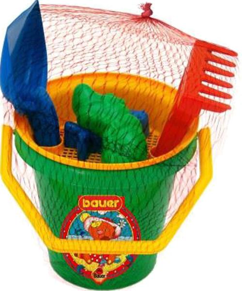 Набор для песочницы Bauer Кроха с ведром и ситом набор для песочницы bauer кроха