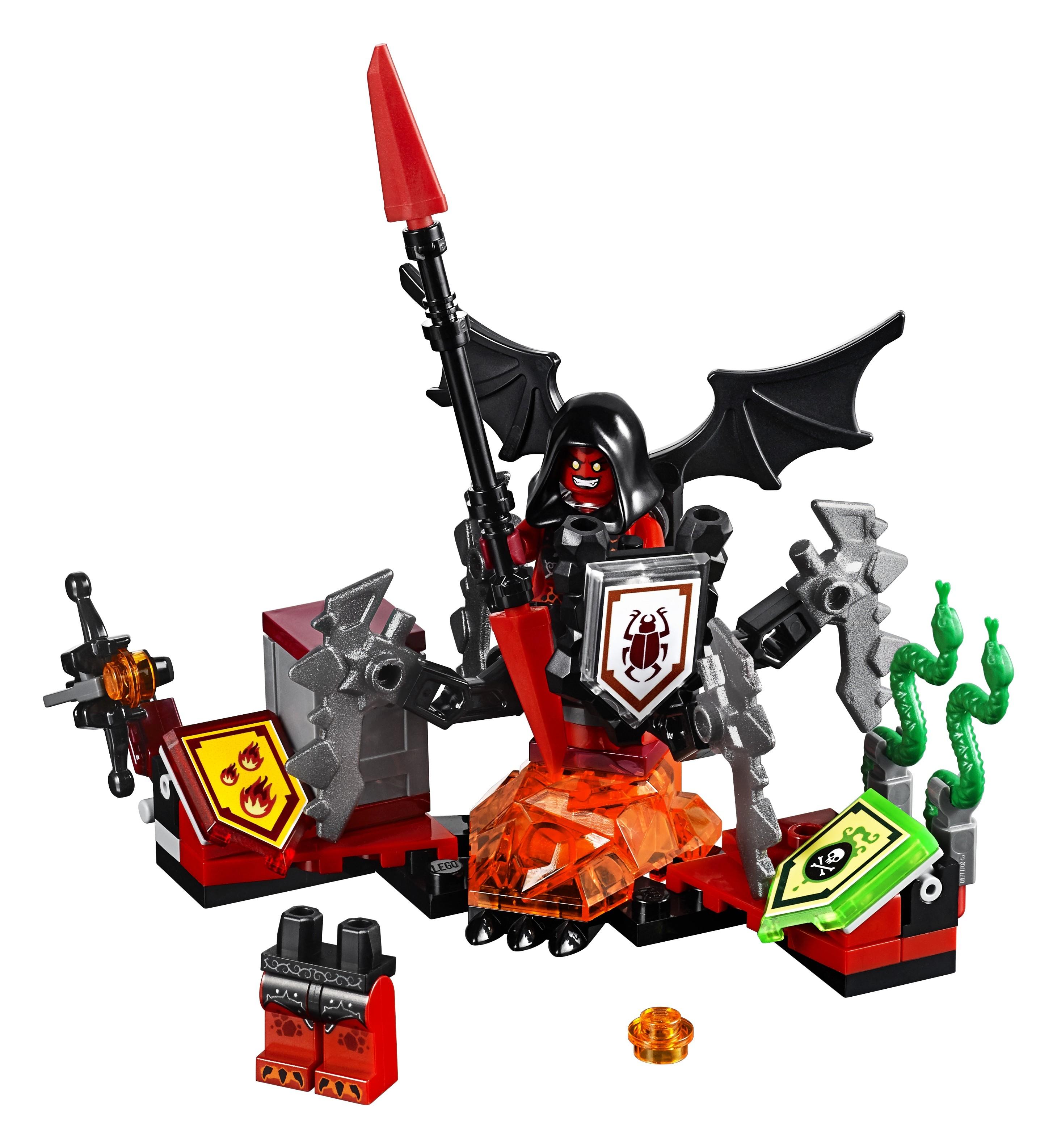LEGO LEGO Nexo Knights 70335 Лавария Абсолютная сила lepin nexo knights axl glob lobber combination marvel building blocks kits toys compatible legoe nexus
