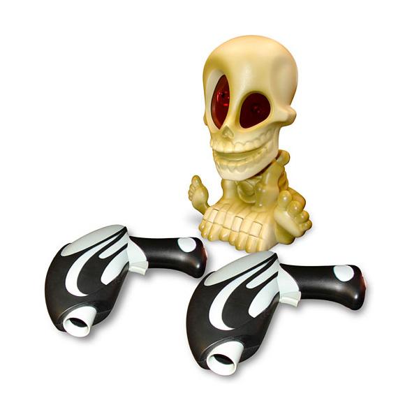 Тир проекционный Johnny the Skull Джонни-Черепок с 2 бластерами