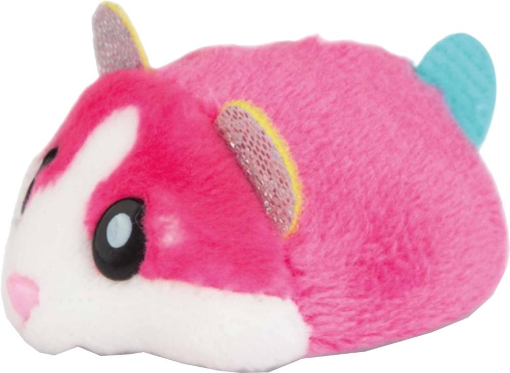 Интерактивная игрушка 1toy Хомячок розовый