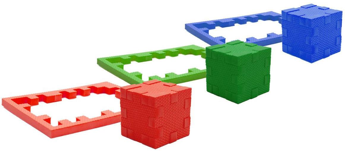 Пазлы Pic&Mix Развивающий пазл-конструктор Pic&Mix «Три стихии» пазлы pic nmix мой дом