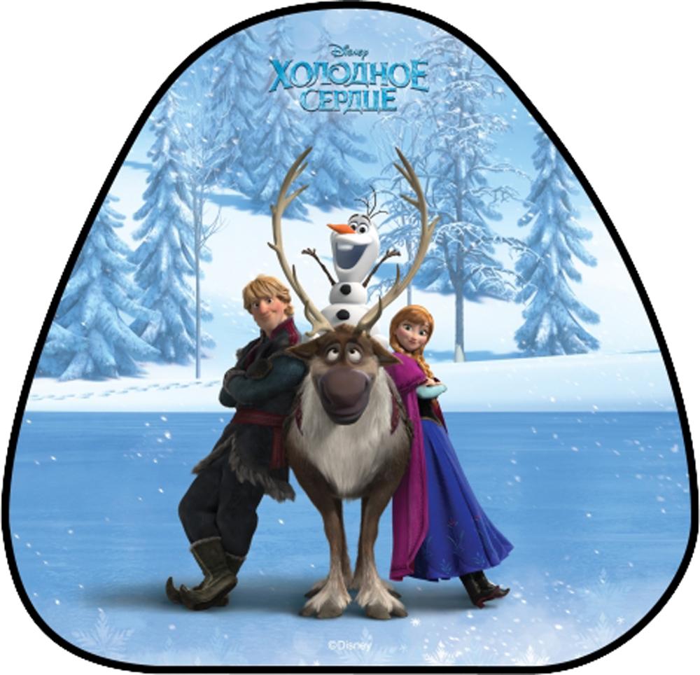 Ледянки 1toy Ледянка 1Toy «Холодное Сердце» 52х50 см треугольная 1toy ледянка холодное сердце 92 см