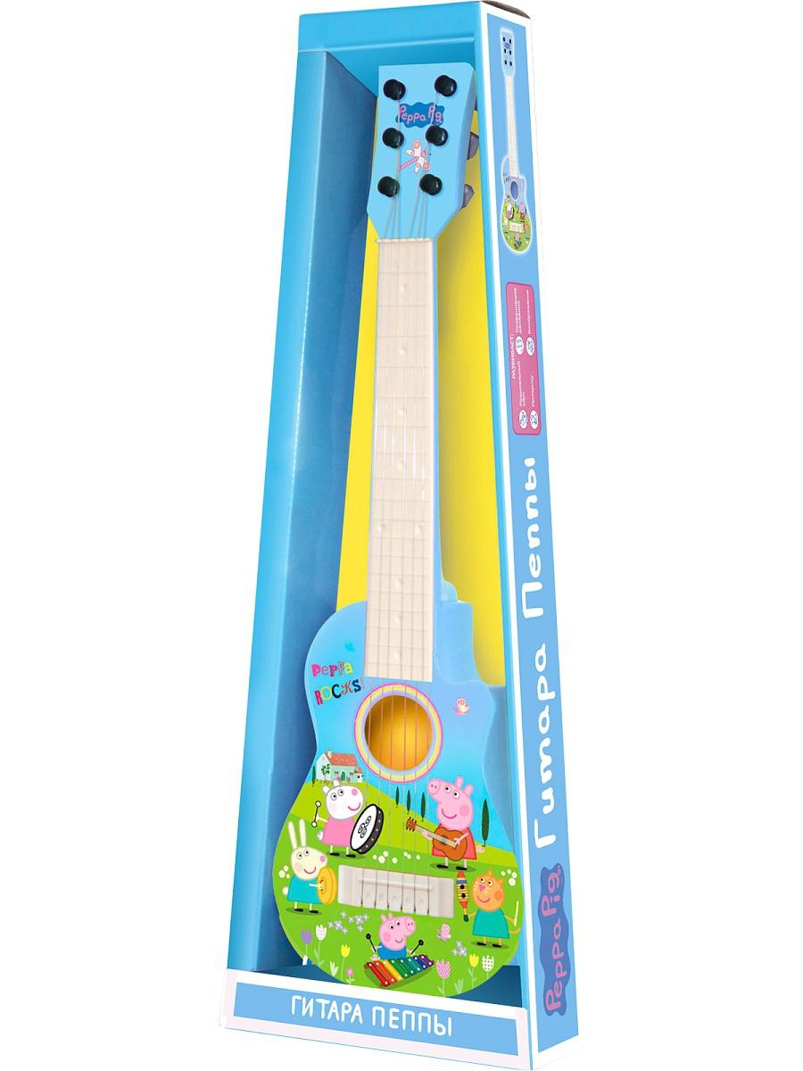Музыкальный инструмент Peppa Pig Гитара Пеппы peppa pig peppa pig гитара пеппы