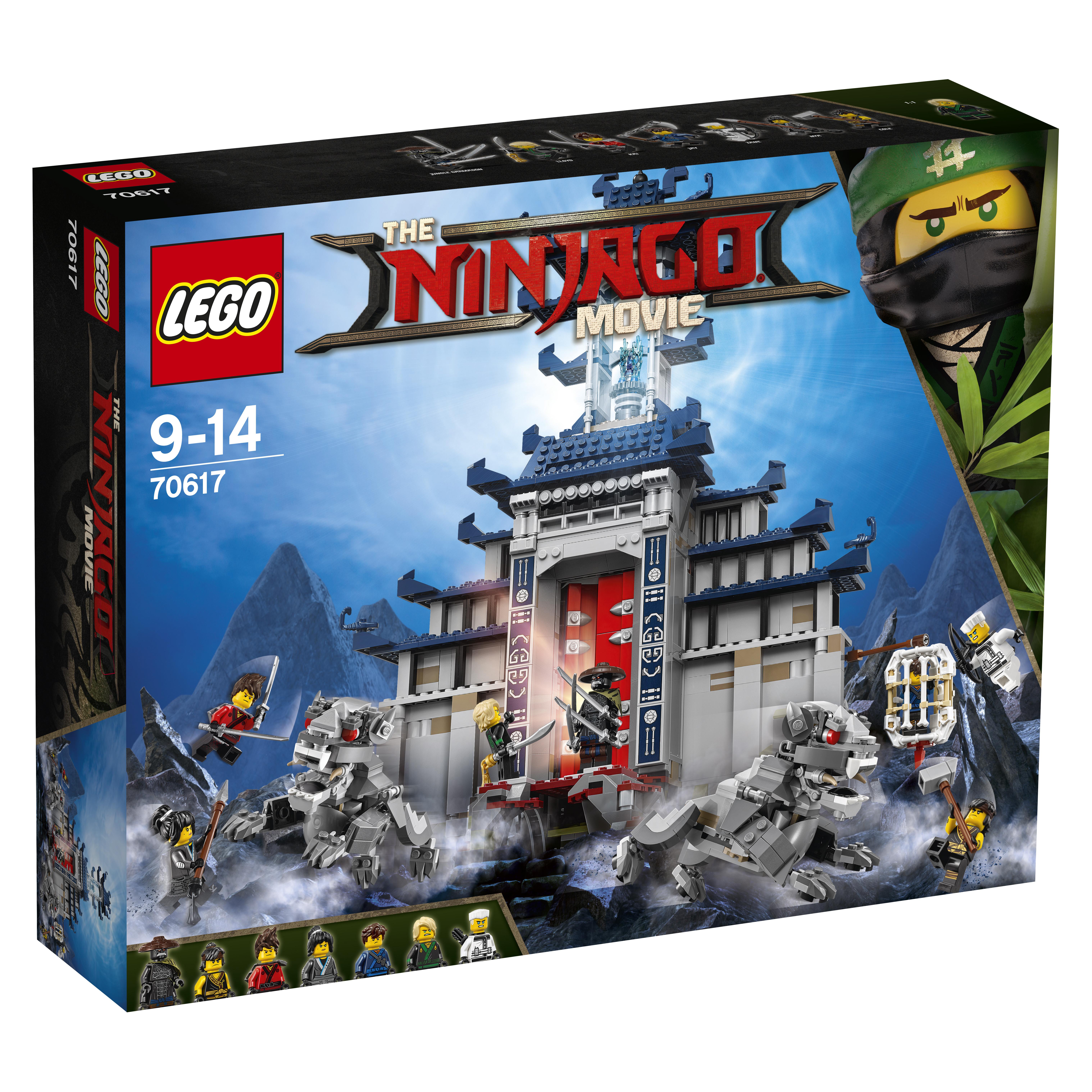 Купить Конструктор LEGO Ninjago 70617 Храм Последнего великого оружия, Венгрия, Мужской