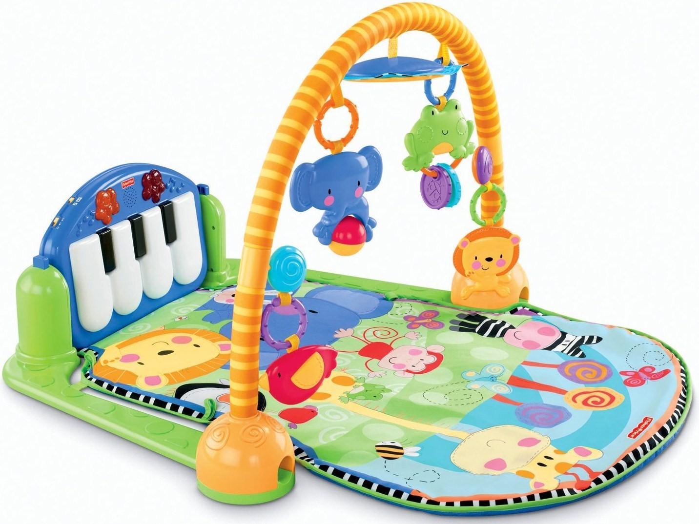 Игровой коврик Fisher Price Пианино музыка ангелов на пианино