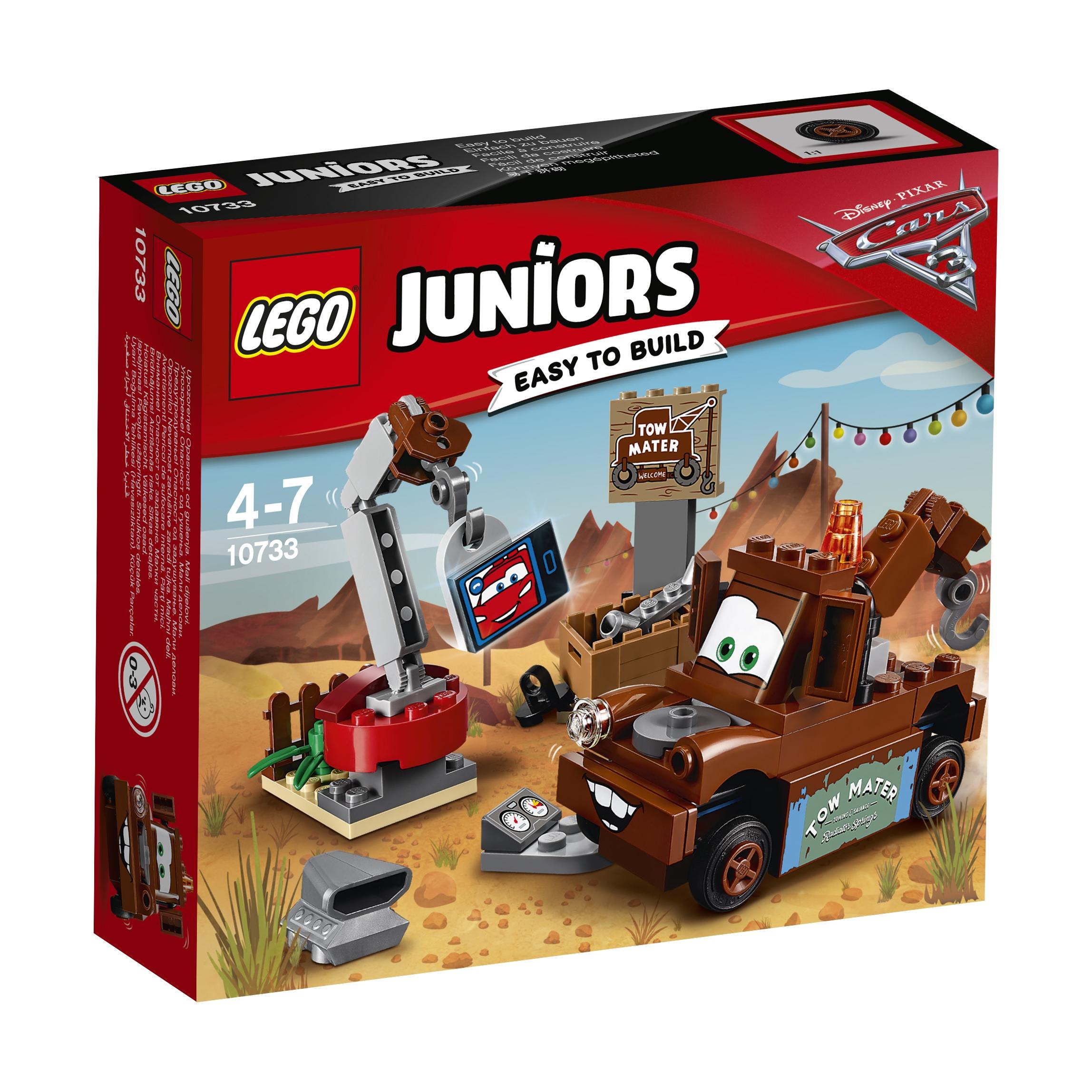 LEGO LEGO Свалка Мэтра lego juniors 10733 лего джуниорс тачки свалка мэтра