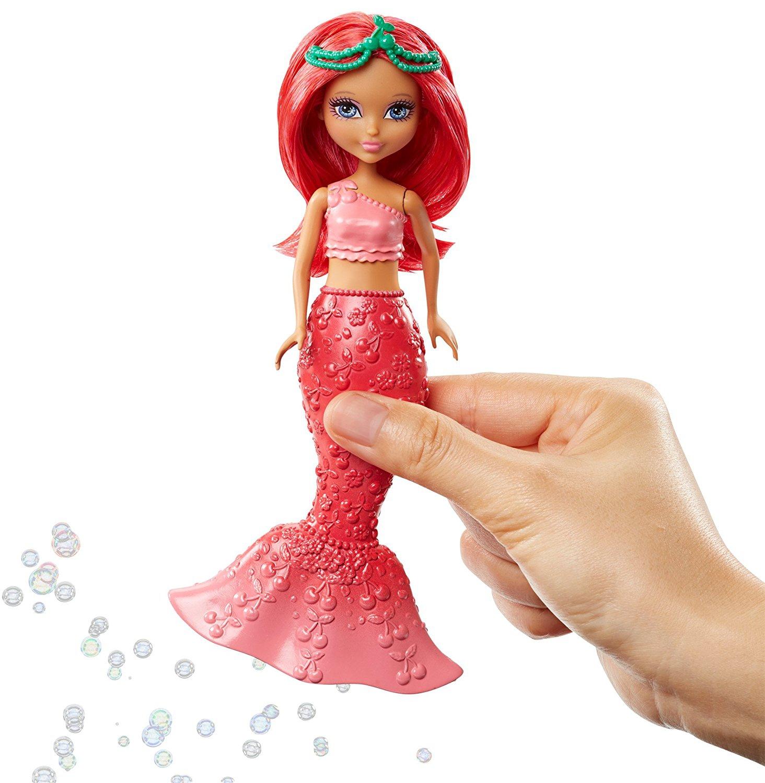 Кукла Mattel Маленькая русалочка с пузырьками цена и фото