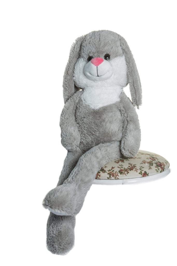 Мягкие игрушки СмолТойс Заяц классические смолтойс заяц шарик