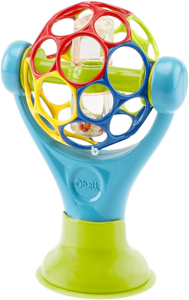 Развивающая игрушка Oball На присоске развивающие игрушки oball мячик на присоске