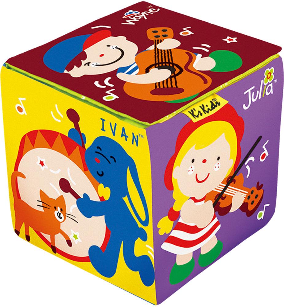 Развивающая игрушка Гулливер Музыкальный кубик музыкальный инструмент аполлона 6 букв