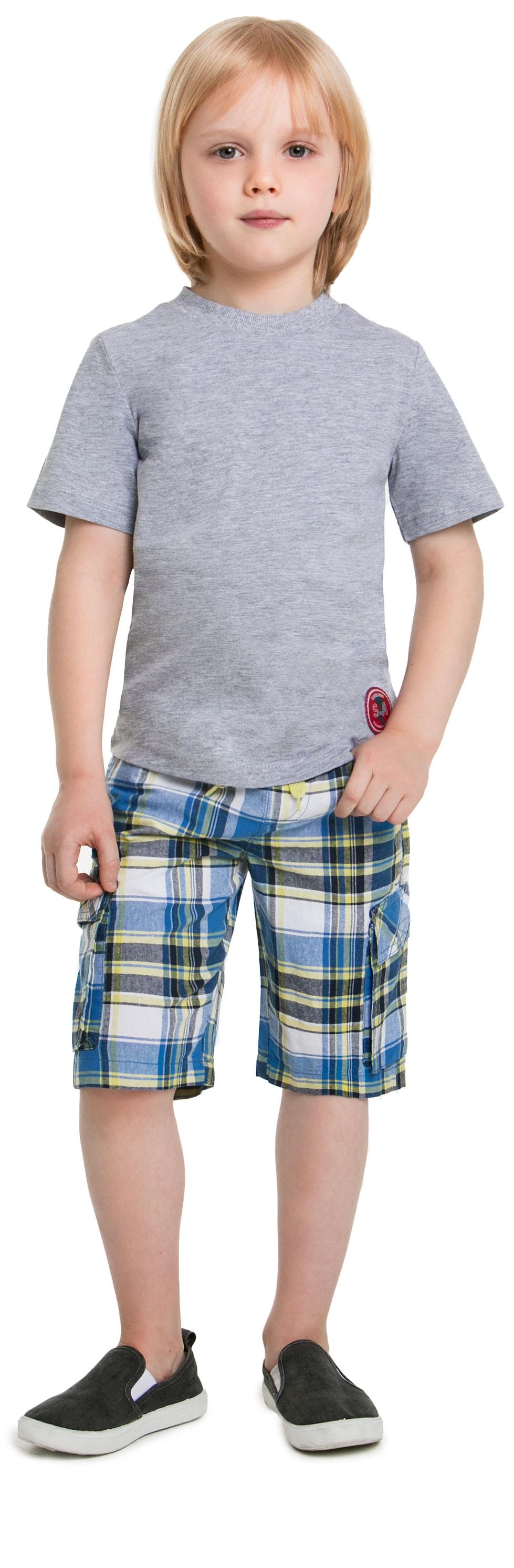 """Купить со скидкой Футболка с коротким рукавом для мальчика Barkito """"Супергерой"""", серая"""