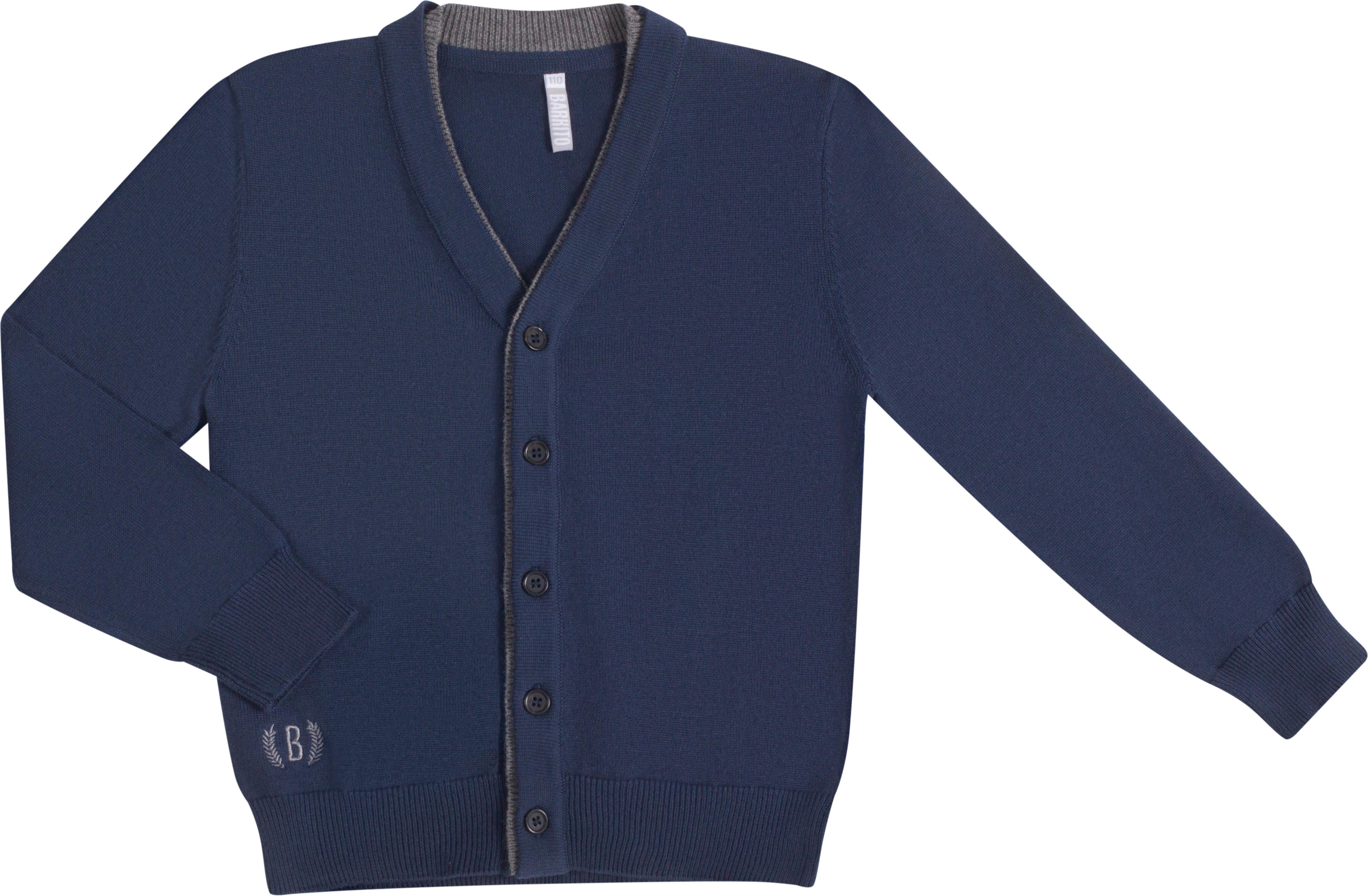 Кардиган для мальчика Barkito W19B4031K(1) комплект верхней одежды для мальчика huppa dante 1 цвет синий темно синий 41930130 82735 размер 104