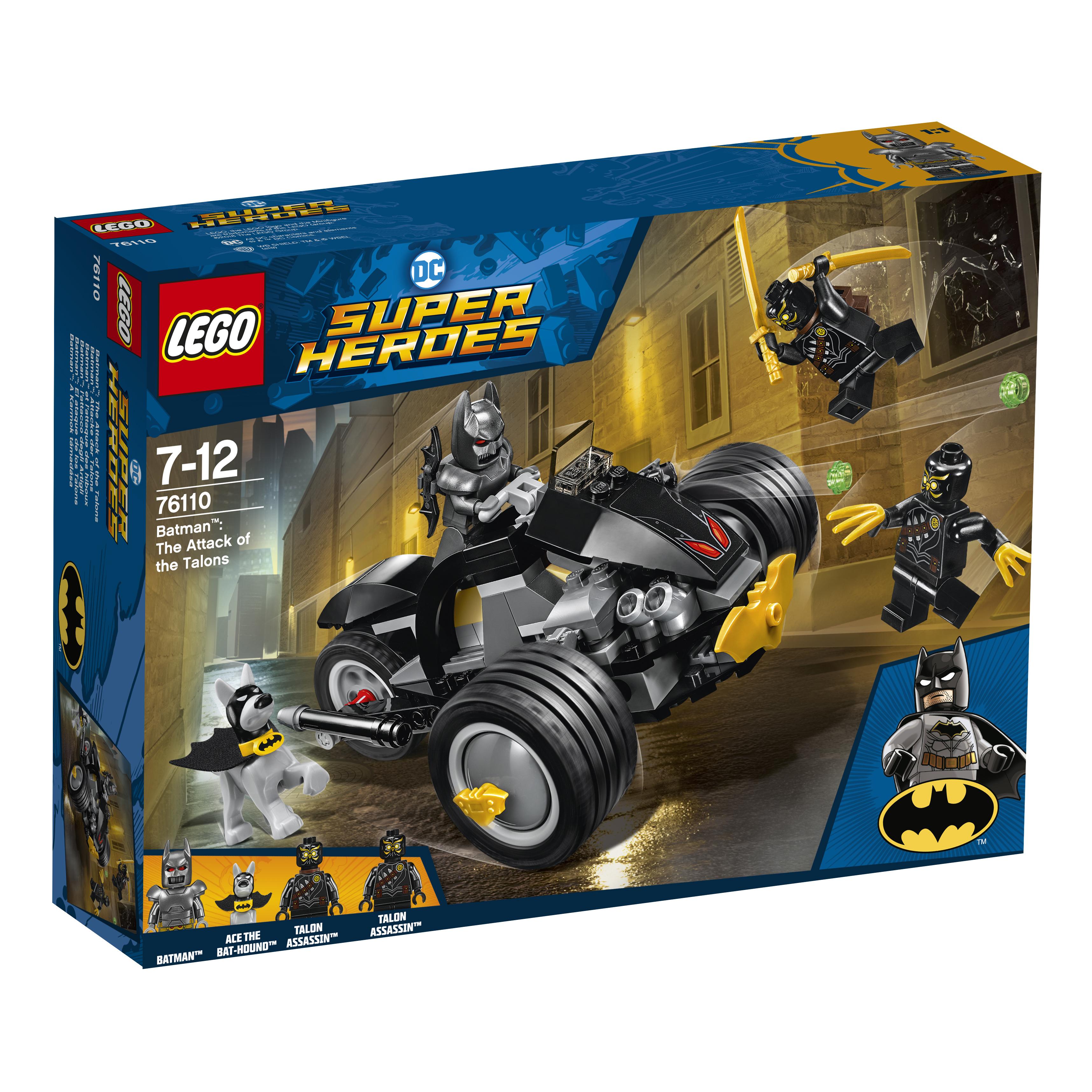 Конструктор LEGO Super Heroes 76110 Бетмен: Нападение Когтей