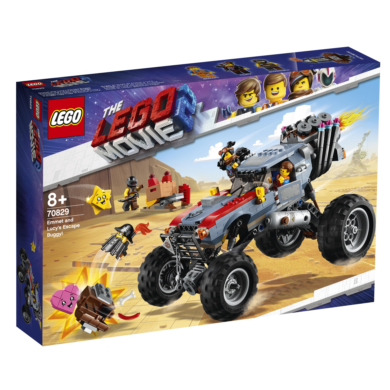 Конструктор LEGO Movie 70829 Побег Эммета и Дикарки на багги конструктор lego batman movie побег джокера на воздушном шаре 70900 l