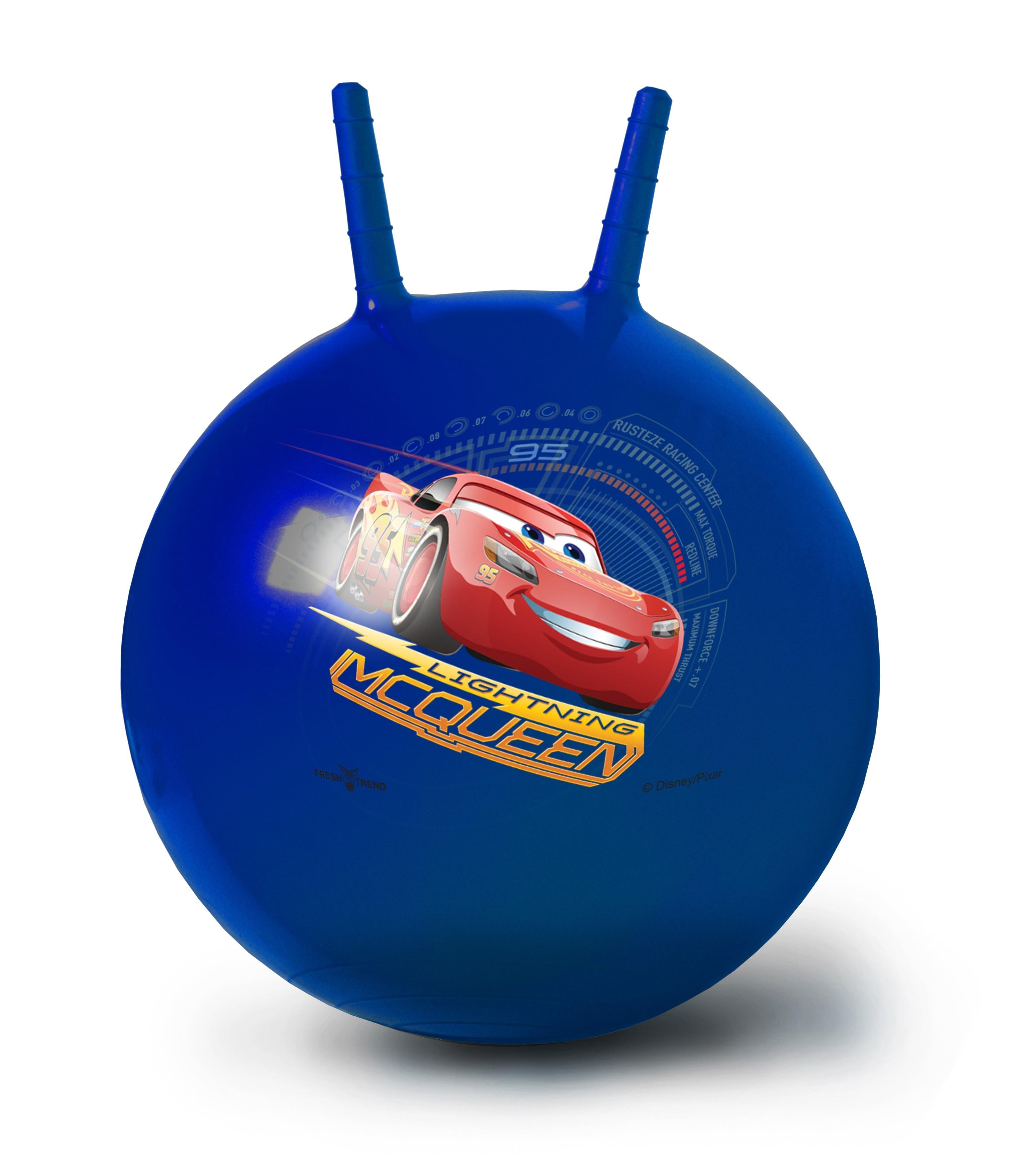 Мяч-попрыгун Fresh Trend Тачки 50 см stantoma игрушка попрыгун мяч с рогами цвет красный 55 см