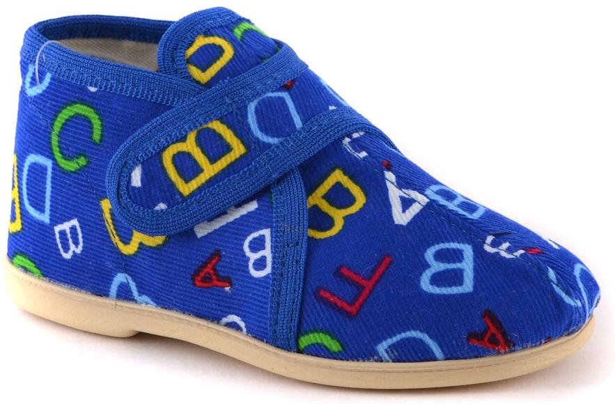 Тапочки Домашки Туфли для мальчика Домашки синие