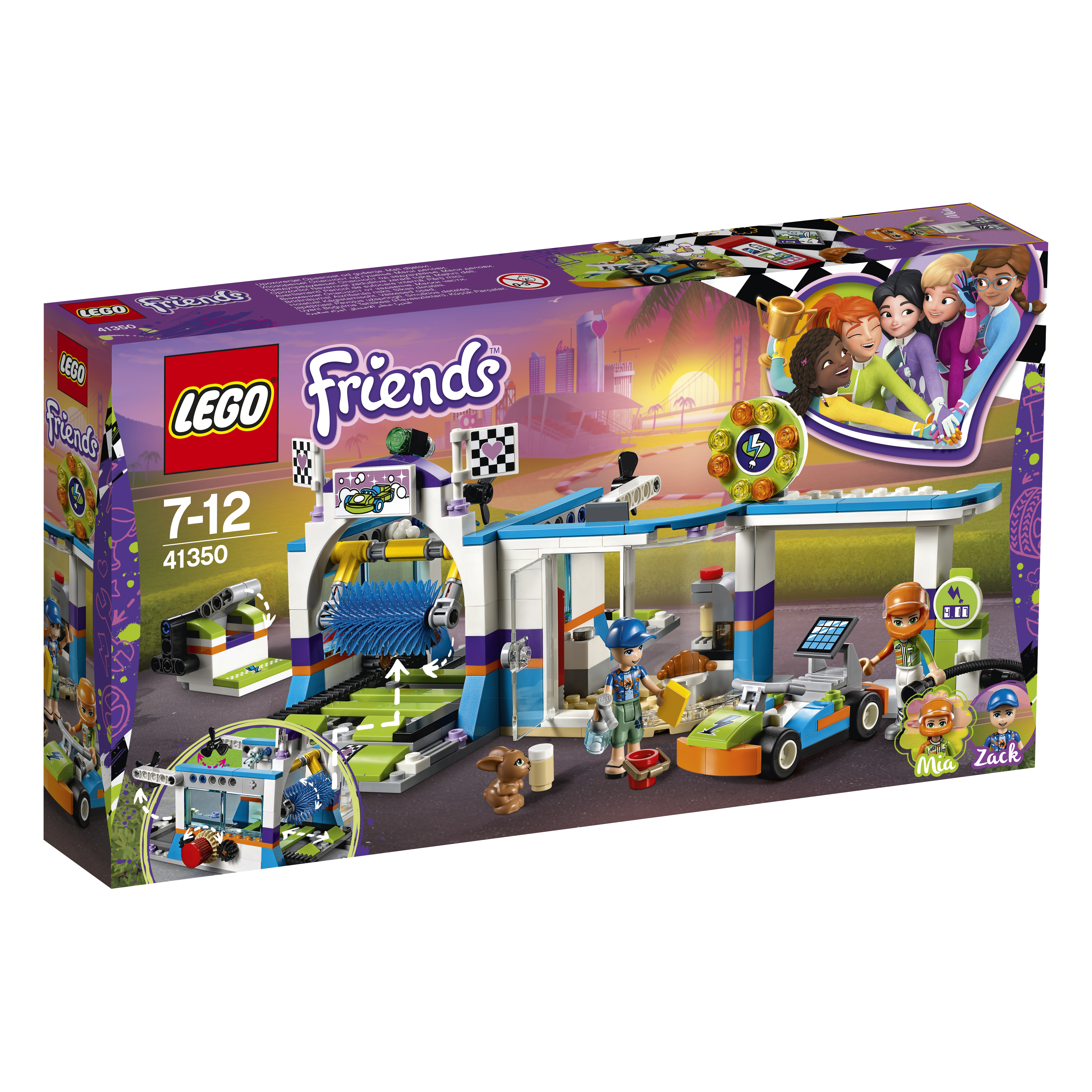 Конструктор LEGO Friends 41350 Автомойка цена