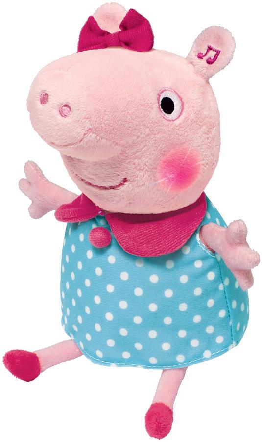 Купить Мягкая игрушка, Пеппа, 1шт., Peppa Pig 30566, Китай, azure