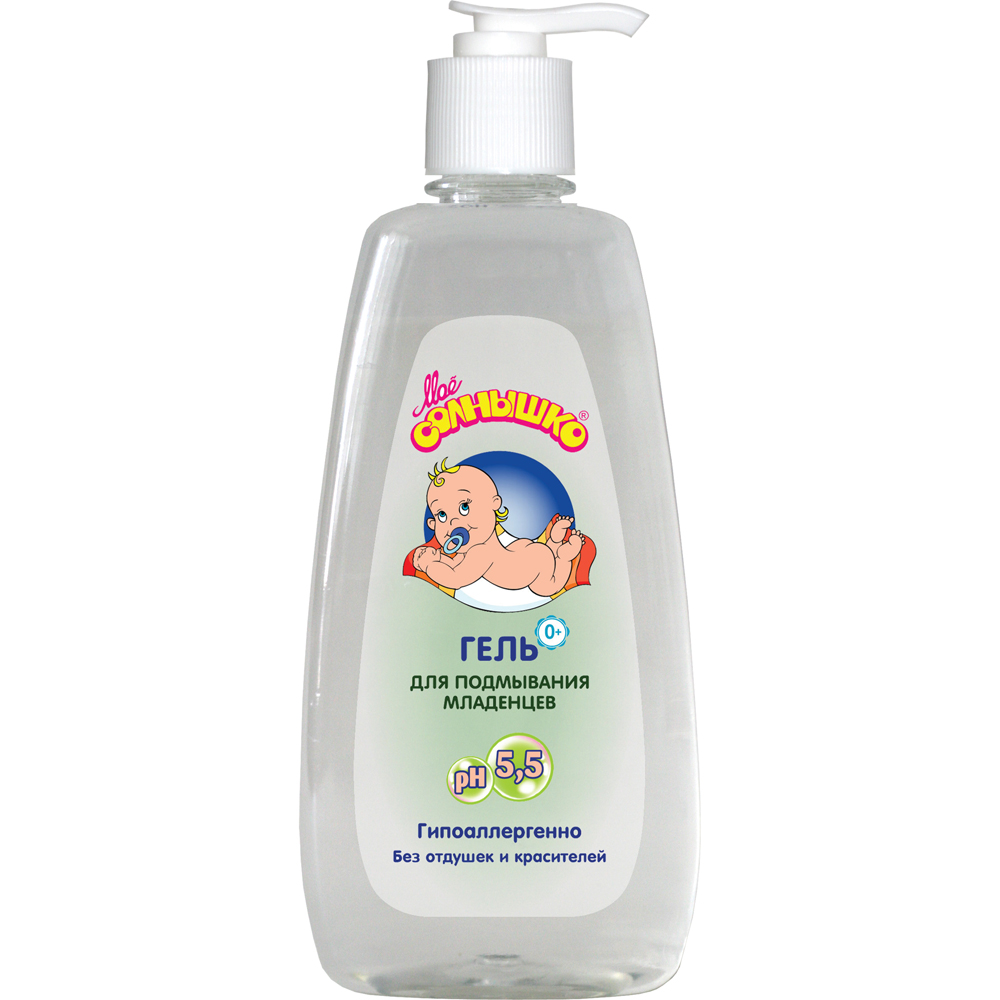 Гель Моё солнышко Для подмывания младенцев 400 мл