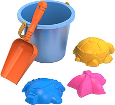 Купить Игрушки для песка, Нордпласт №4 (029+004+малое ведро), Россия, в ассортименте