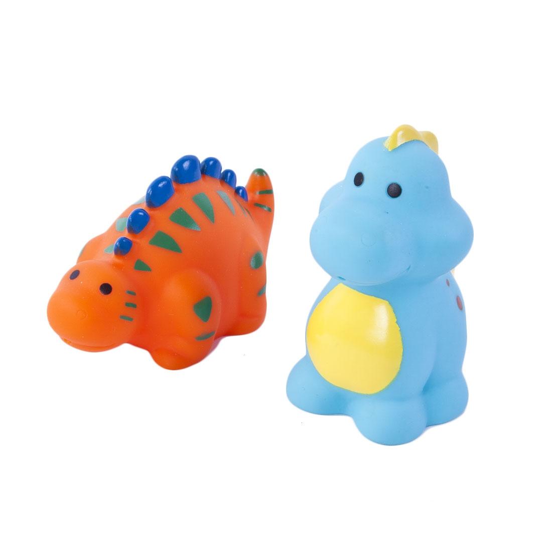 Игрушки для ванны Жирафики Набор для купания Жирафики «Динозаврики» игрушки для ванны жирафики набор для купания черепашка и пингвин